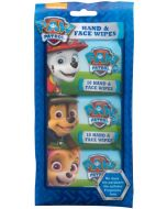 Nickelodeon Paw Patrol Hand & Face Wipes Cleansing Wipes 30pc