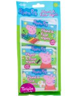 Peppa Pig Peppa Hand & Face Wipes Cleansing Wipes 30pc
