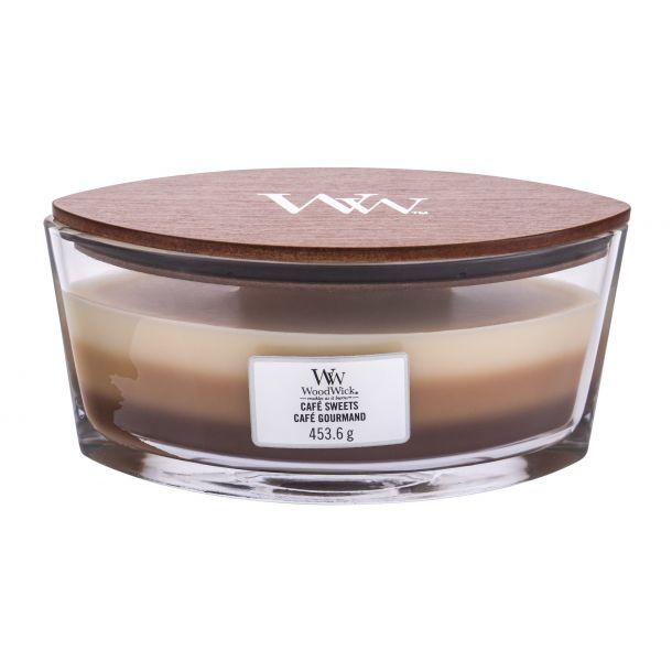 Woodwick Café Sweets Scented Candle 453,6gr