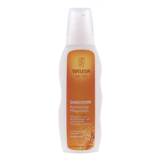 Weleda Sea Buckthorn Replenishing Body Lotion 200ml (Bio Natural Product)