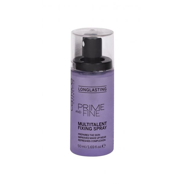 Catrice Prime And Fine Multitalent Fixing Spray Make - Up Fixator 50ml