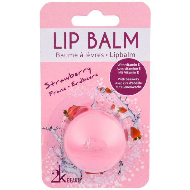 2k Beauty Lip Balm Strawberry 5gr (For All Ages)
