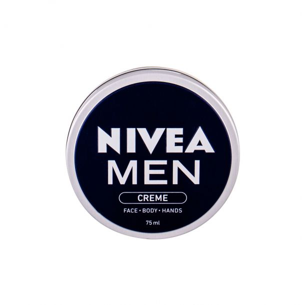 Nivea Men Creme Face Body Hands Day Cream 75ml (For All Ages)