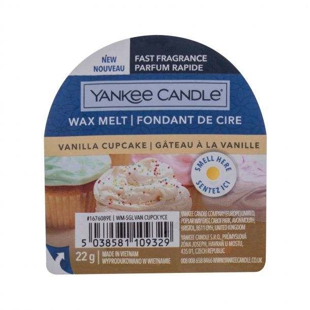 Yankee Candle Vanilla Cupcake Scented Candle 22gr