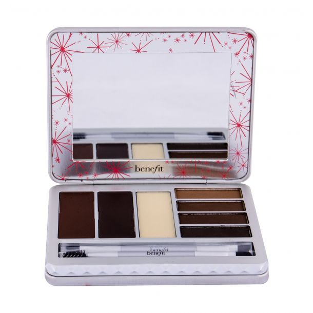 Benefit Brow Zings Pro Palette Set and Pallette For Eyebrows Medium - Deep 11,8gr