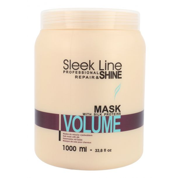 Stapiz Sleek Line Volume Hair Mask 1000ml (Fine Hair - Dry Hair)
