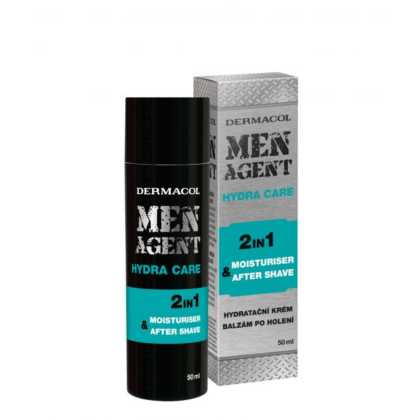 Dermacol Men Agent Hydra Care 2in1 Aftershave Balm 50ml