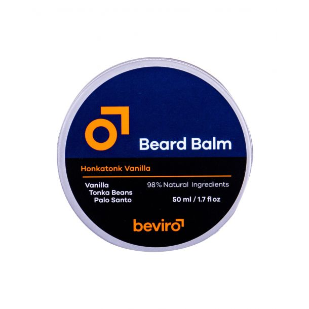 Be-viro Men´s Only Beard Balm Beard Wax Vanilla, Tonka Beans, Palo Santo 50ml