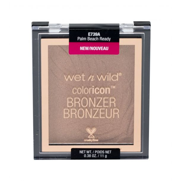 Wet N Wild Color Icon Bronzer Palm Beach Ready 739A 11gr