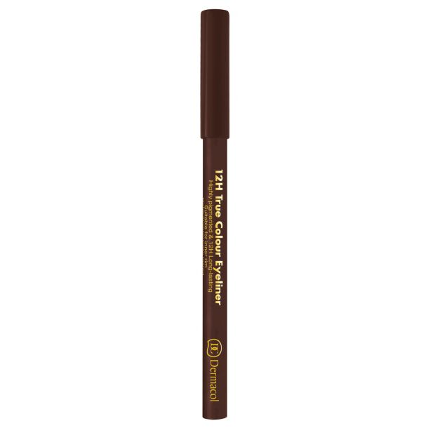Dermacol 12H True Colour Eye Pencil 6 Dark Brown 0,28gr