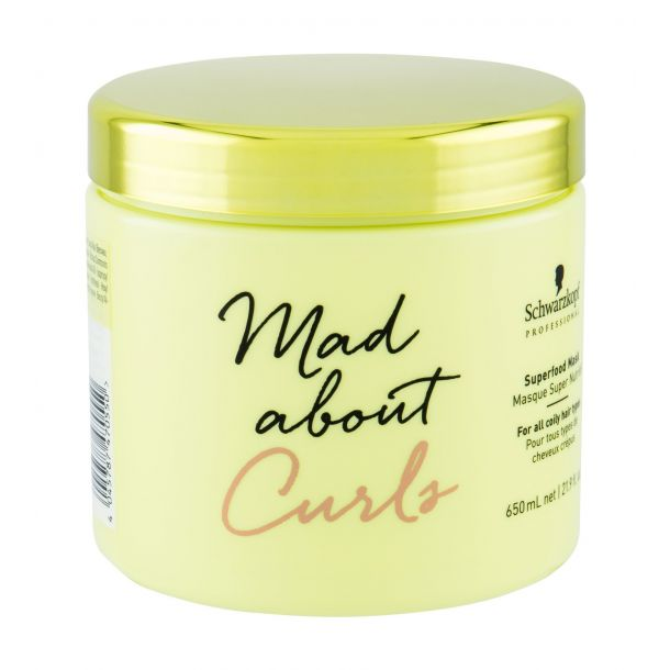 Schwarzkopf Mad About Curls Superfood Mask Hair Mask 650ml (Curly Hair)