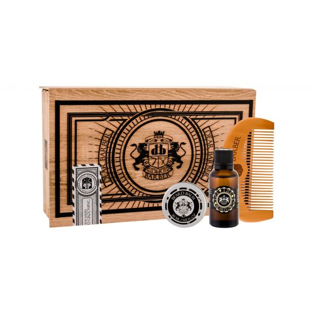 Dear Barber Beard Oil Beard Oil 30ml Combo: Beard Oil 30 Ml + Beard Balm 30 Ml + Beard Comb 1 Ks
