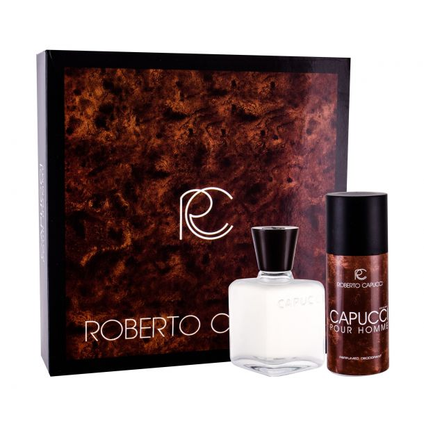 Roberto Capucci Capucci Pour Homme Aftershave Water 100ml Combo: Aftershave Water 100 Ml + Deodorant 120 Ml