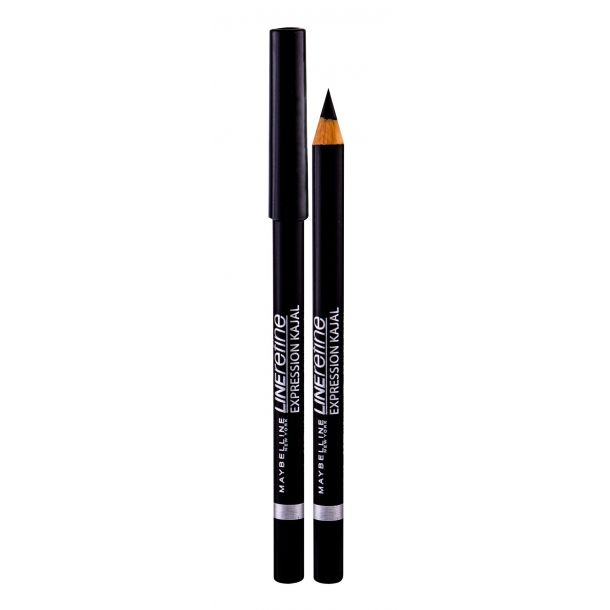 Maybelline Line Refine Expression Kajal Eye Pencil 33 Black 4gr (Waterproof)