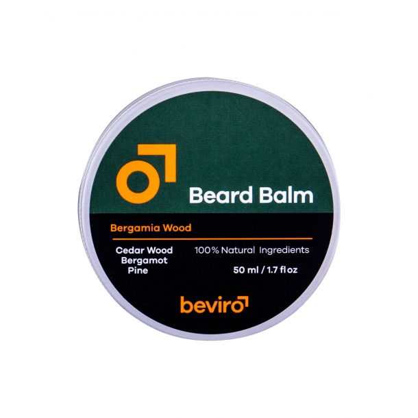 Be-viro Men´s Only Beard Balm Beard Wax Cedar Wood, Bergamot, Pine 50ml