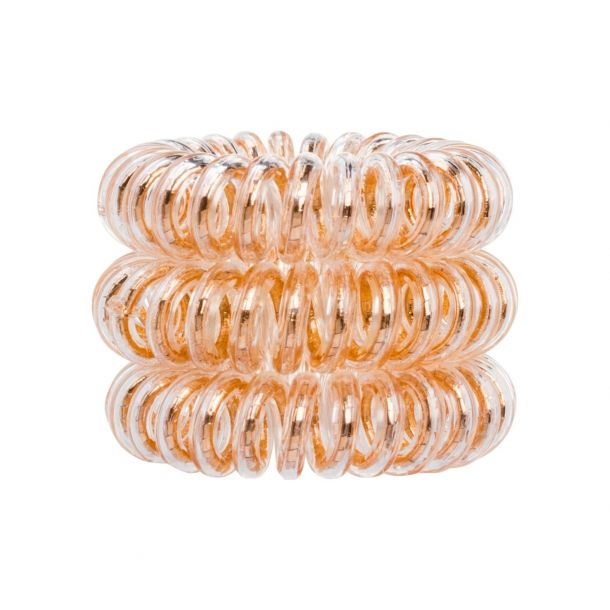 Invisibobble The Traceless Hair Ring Hair Ring Bronze Me Pretty 3pc