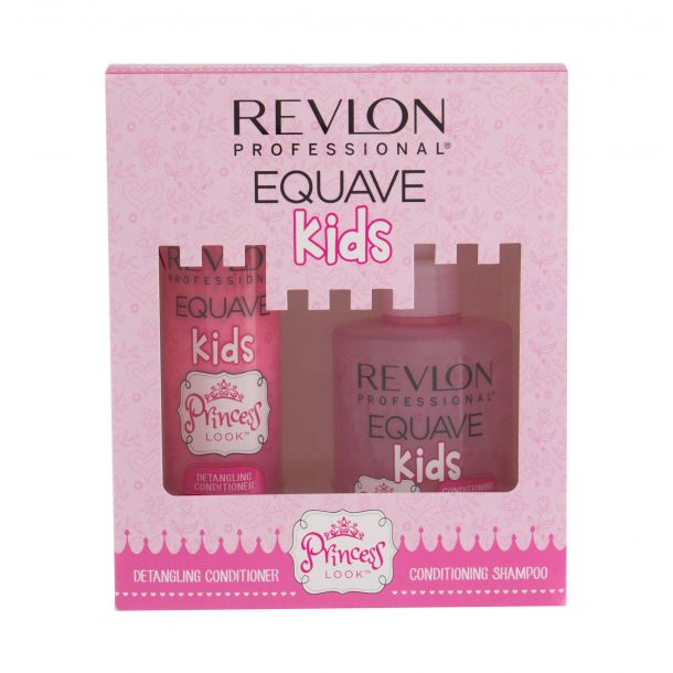 Revlon Professional Equave Kids Princess Look Shampoo 300ml Combo: Shampoo 300 Ml + Conditioner 200 Ml (All Hair Types)