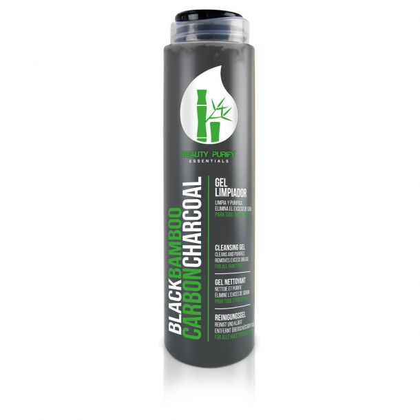 Diet Esthetic Black Bamboo Carbon Charcoal Cleansing Gel 200ml