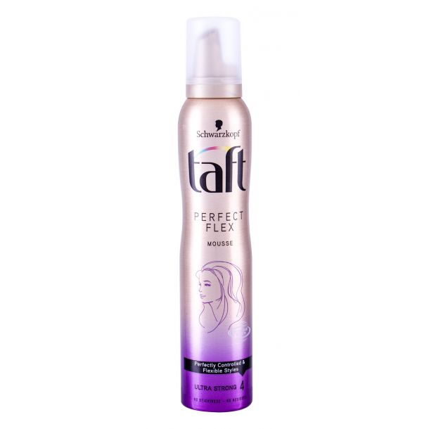 Schwarzkopf Taft Perfect Flex Hair Mousse 200ml (Extra Strong Fixation)