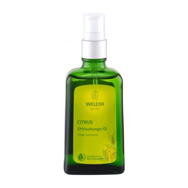 Weleda Citrus Refreshing Body Oil 100ml (Bio Natural Product)