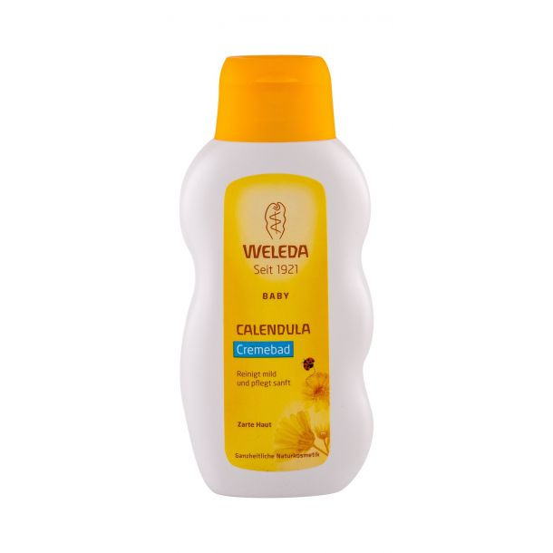 Weleda Baby Calendula Cream Bath Shower Cream 200ml (Bio Natural Product)
