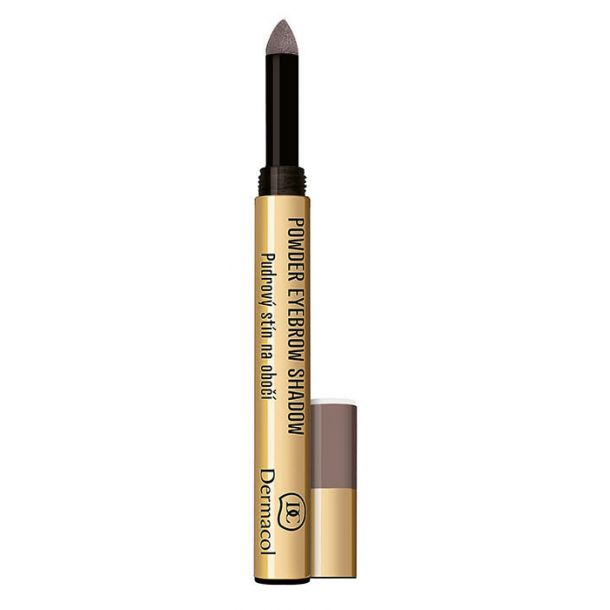 Dermacol Powder Eyebrow Shadow Eyebrow Pencil 2 1gr