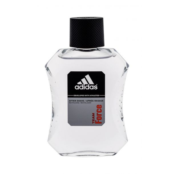 Adidas Team Force Aftershave Water 100ml Damaged Box