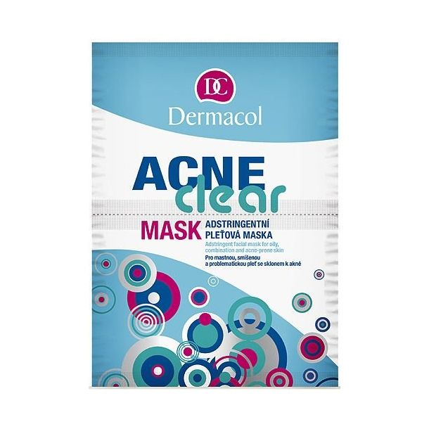 Dermacol AcneClear Face Mask 16gr (For All Ages)