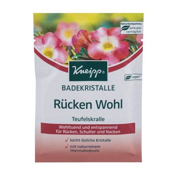 Kneipp Mineral Bath Salt Back Comfort Devil´s Claw Bath Salt 60gr