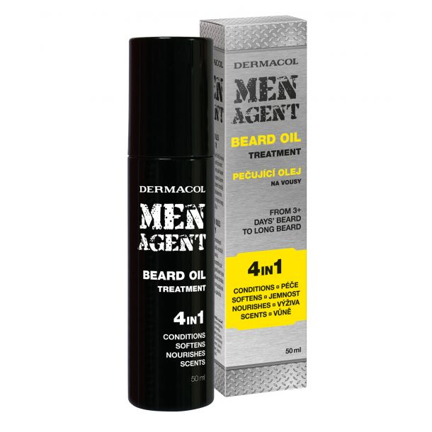 Dermacol Men Agent Beard Oil Treatment 4in1 50ml