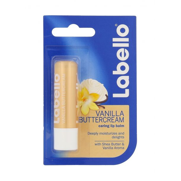 Labello Vanilla Buttercream Lip Balm 5,5ml (For All Ages)