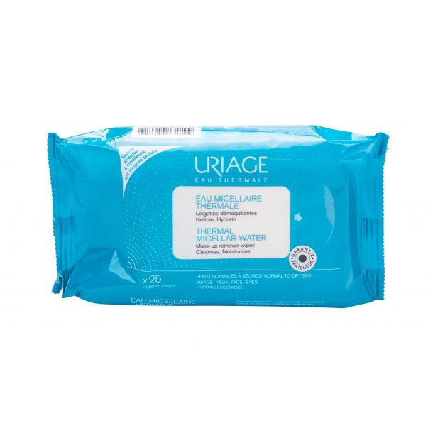 Uriage Eau Thermale Eau Micellaire Thermale Cleansing Wipes 25pc