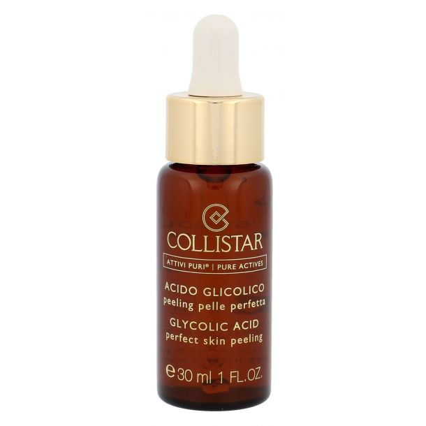 Collistar Pure Actives Glycolic Acid Perfect Skin Peeling Skin Serum 30ml (For All Ages)