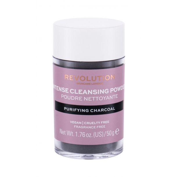 Revolution Skincare Cleansing Powder Purifying Charcoal Cleansing Mousse 50gr