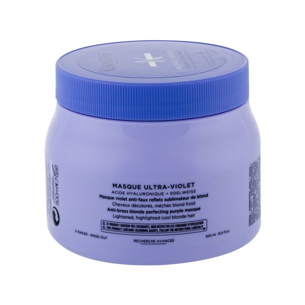 Kérastase Blond Absolu Masque Ultra-Violet Hair Mask 500ml (Blonde Hair - Highlighted Hair)