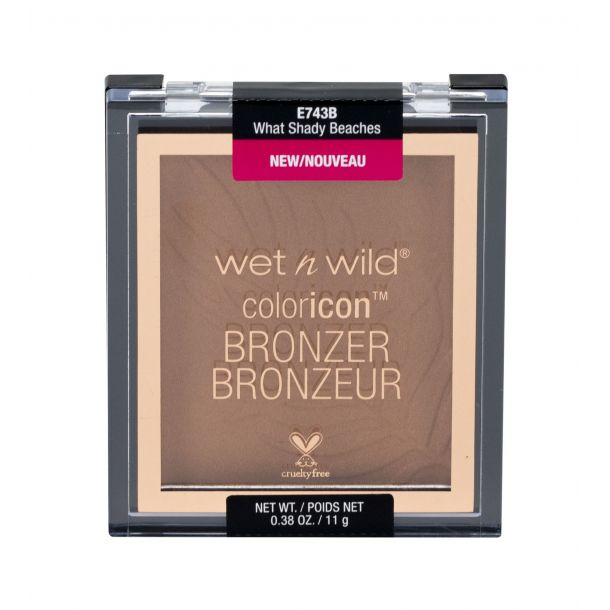 Wet N Wild Color Icon Bronzer What Shady Beaches 743B 11gr