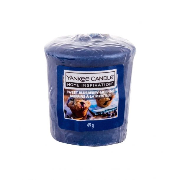 Yankee Candle Sweet Blueberry Muffins Scented Candle 49gr