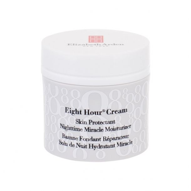 Elizabeth Arden Eight Hour Cream Nighttime Miracle Moisturizer Night Skin Cream 50ml Tester (For All Ages)