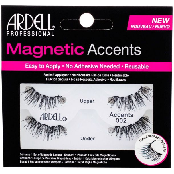 Ardell Magnetic Accents Accents 002 False Eyelashes Black 1pc