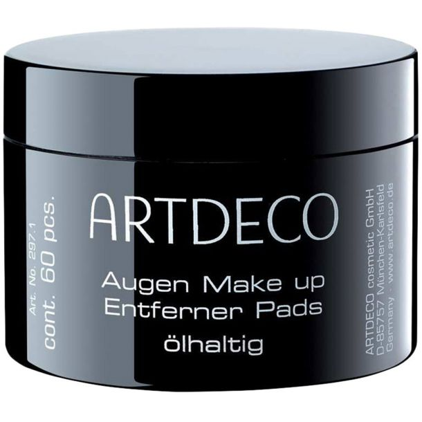 Artdeco Eye Make-up Remover Eye Make-up Remover Pads Oily Cleansing Wipes 60pc