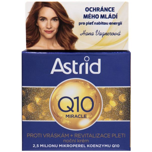 Astrid Q10 Miracle Night Skin Cream 50ml (Wrinkles)