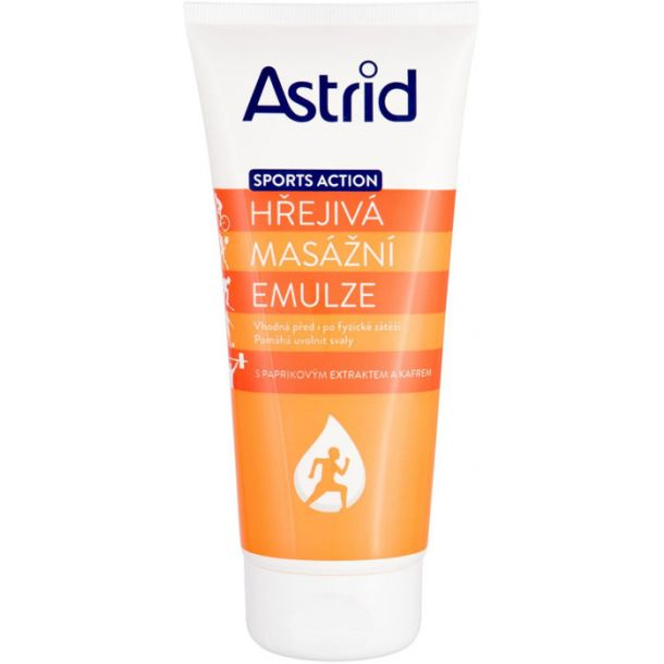 Astrid Sports Action Warming Massage Emulsion For Massage 200ml