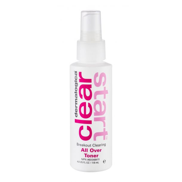 Dermalogica Clear Start All Over Toner Facial Lotion and Spray 118ml