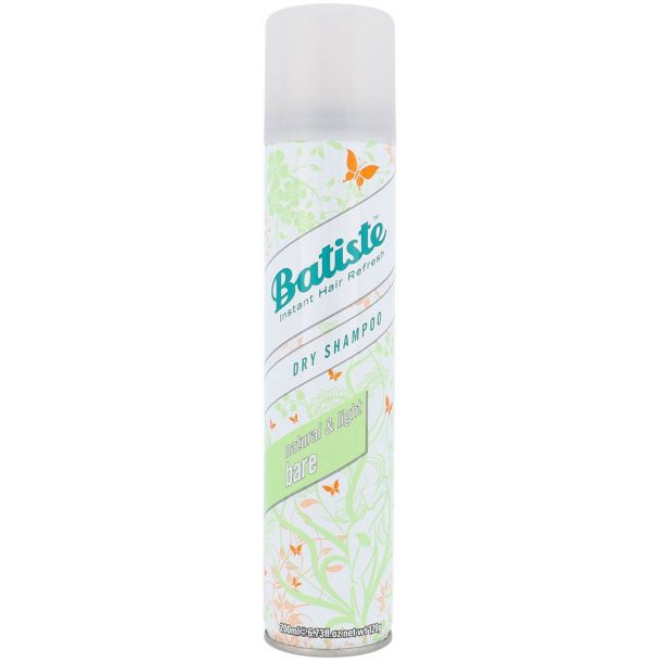 Batiste Bare Dry Shampoo 200ml (All Hair Types)