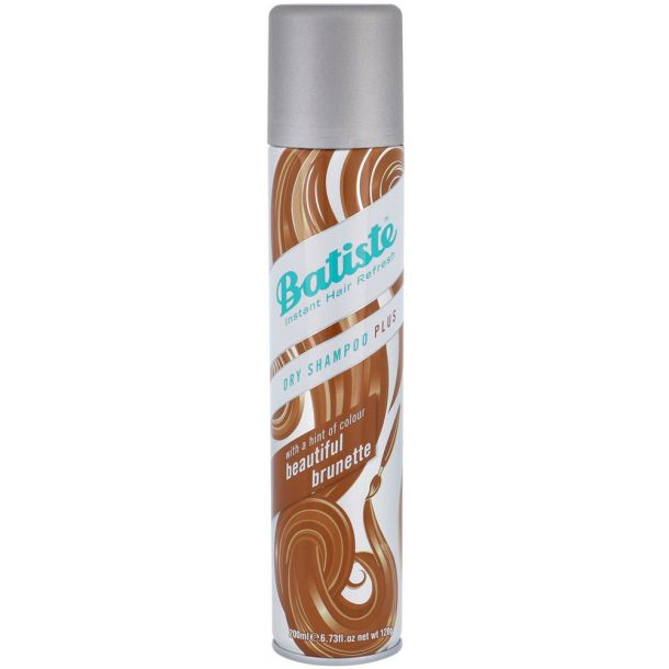 Batiste Beautiful Brunette Dry Shampoo Plus 200ml (All Hair Types)