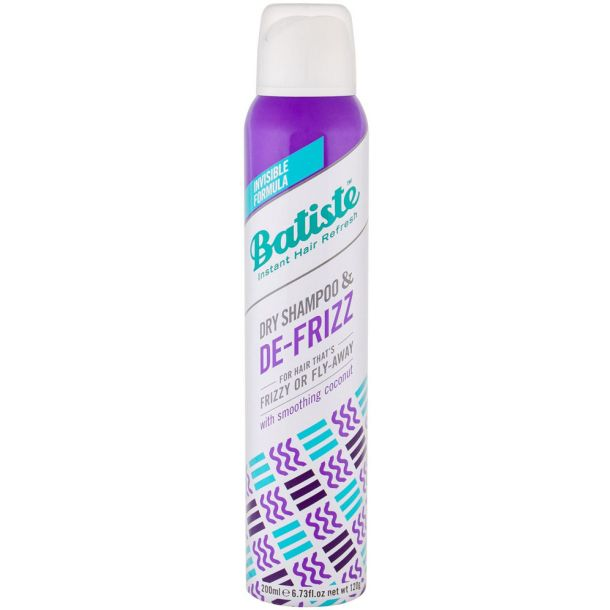 Batiste De-Frizz Dry Shampoo 200ml (Curly Hair - Unruly Hair)