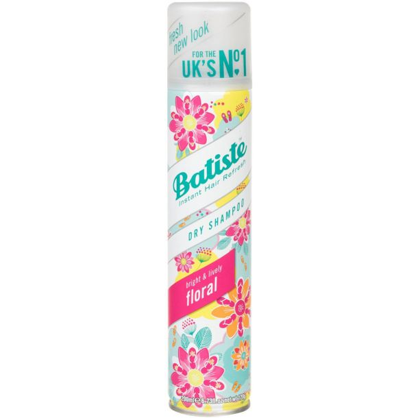 Batiste Floral Dry Shampoo 200ml (All Hair Types)