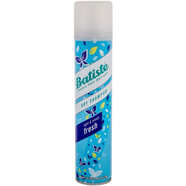 Batiste Fresh Dry Shampoo 200ml (Fine Hair)
