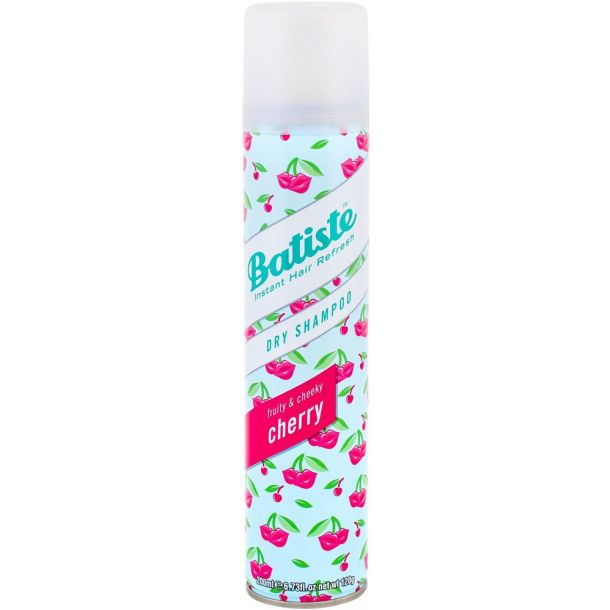 Batiste Fruity & Cheeky Cherry Dry Shampoo 200ml (All Hair Types)