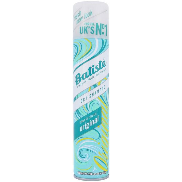 Batiste Original Dry Shampoo 200ml (All Hair Types)